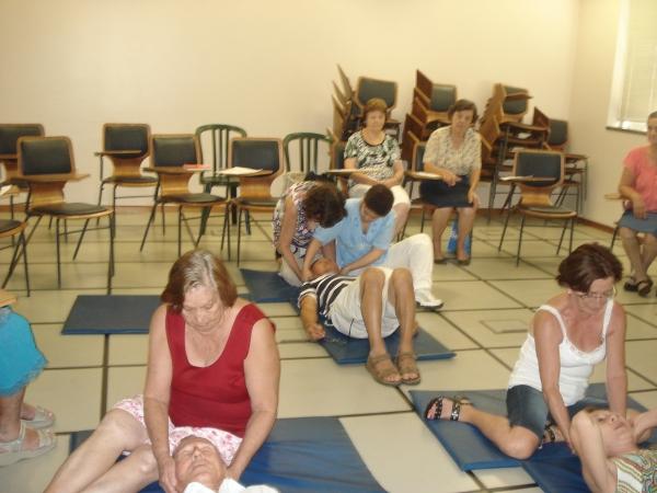 Oficina de Massagem para Cefaleia