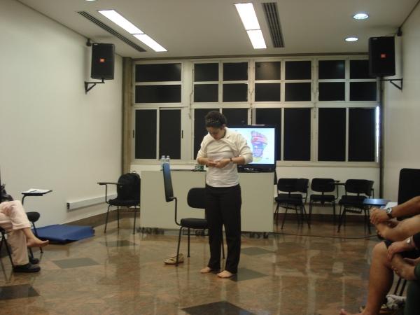Oficina Sono: Avaliação e Reflexologia